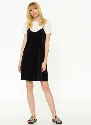 Only Kısa Kollu Elbise Siyah